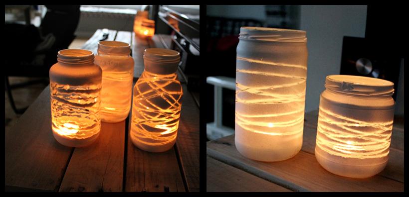 Aprenda a transformar frascos de compotas em objetos decorativos