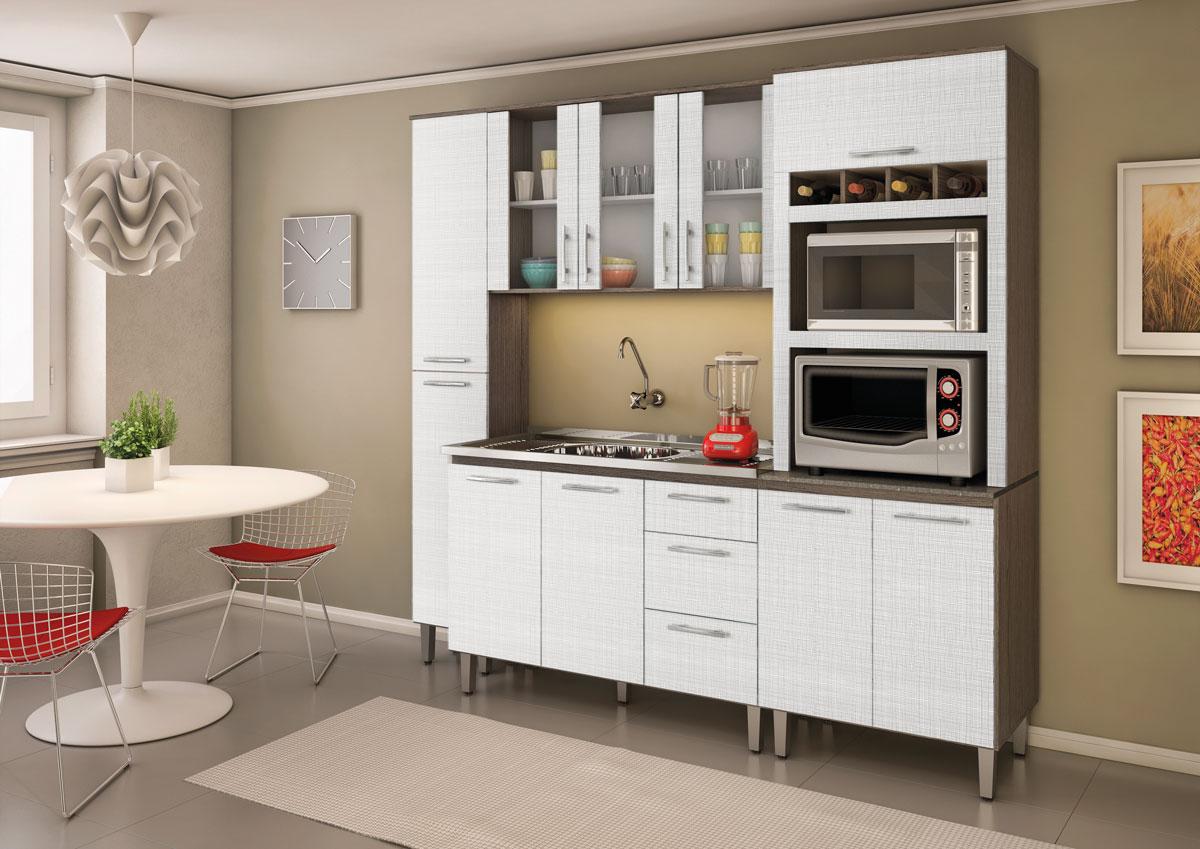 #A23329  Modulada Cozinha Suspensa Kit's e Cristaleiras Faça seu Projeto 1200x849 px Projeto Cozinha Modulado #2605 imagens