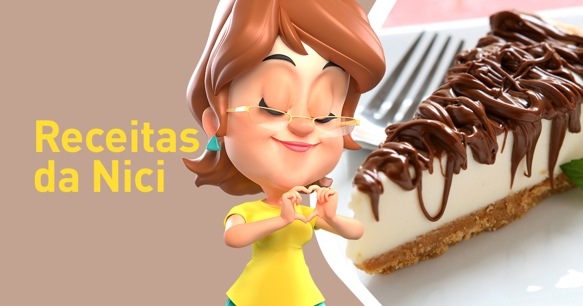 Páscoa com Cheesecake de Nutella