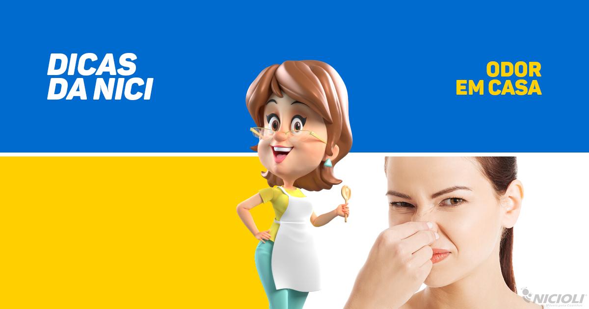 Odores em casa: saiba como eliminá-los