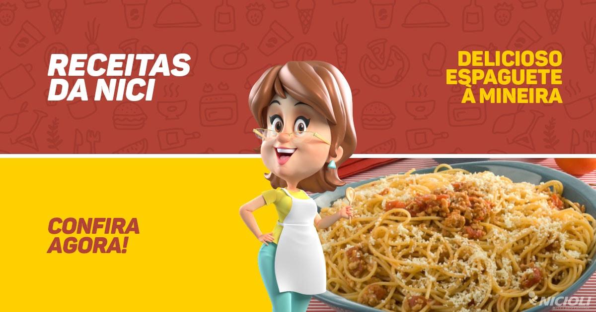 Delicioso Espaguete à Mineira