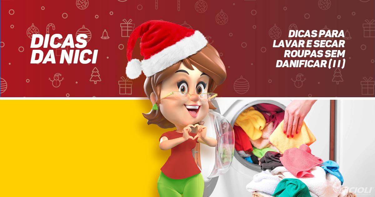 Dicas para lavar e secar roupas sem danificar (parte II)