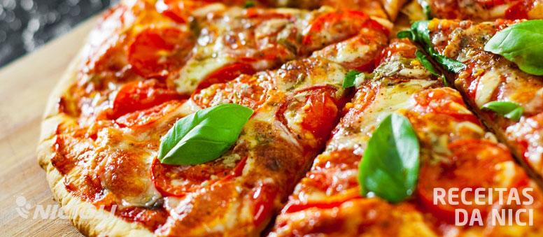 Pizza rápida de liquidificador