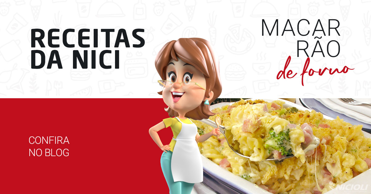 Macarrão com Frango Delicioso de Forno