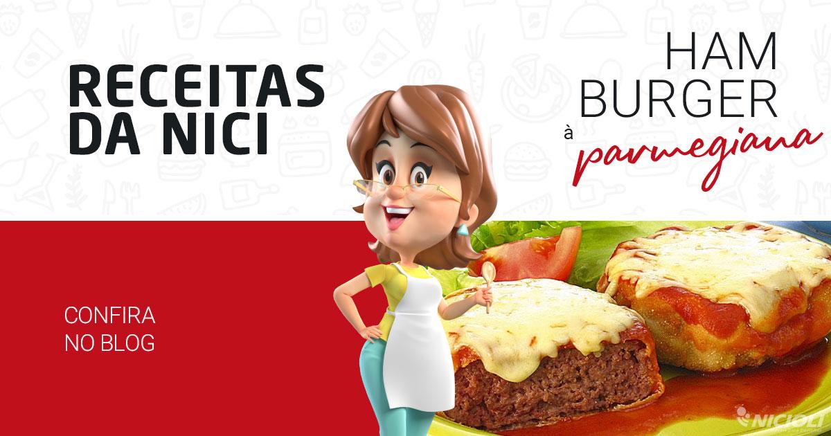 Hambúrguer à Parmegiana Sensacional