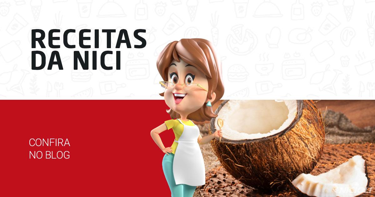 3 receitas com Coco: Queijadinha, Cocada e Cocada de Colher