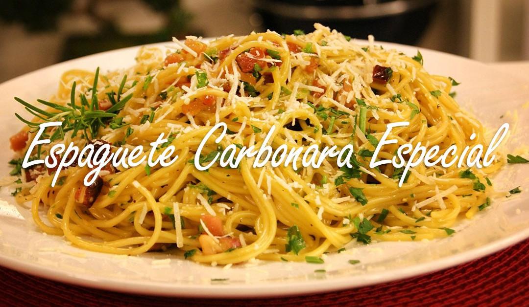 Espaguete Carbonara Especial