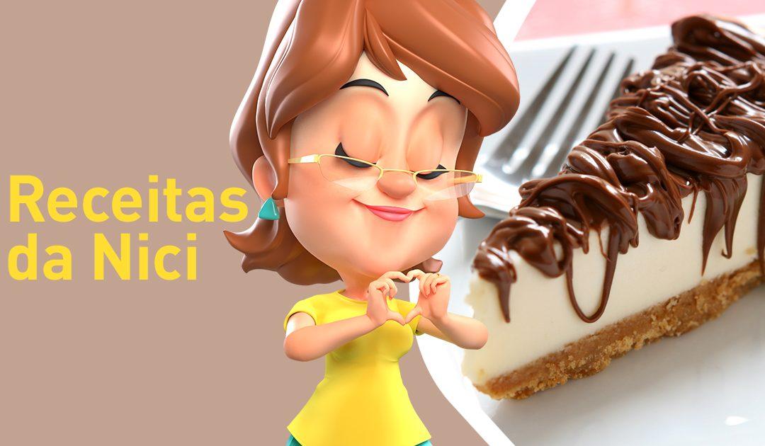 Páscoa com Cheesecake de Nutella