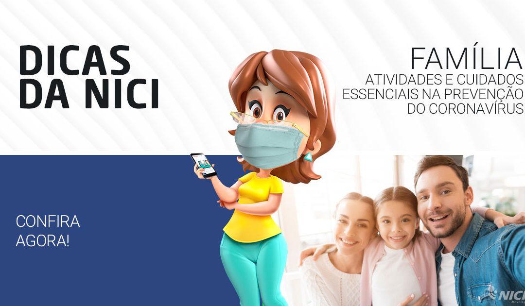 Atividades e cuidados essenciais na prevenção do coronavírus