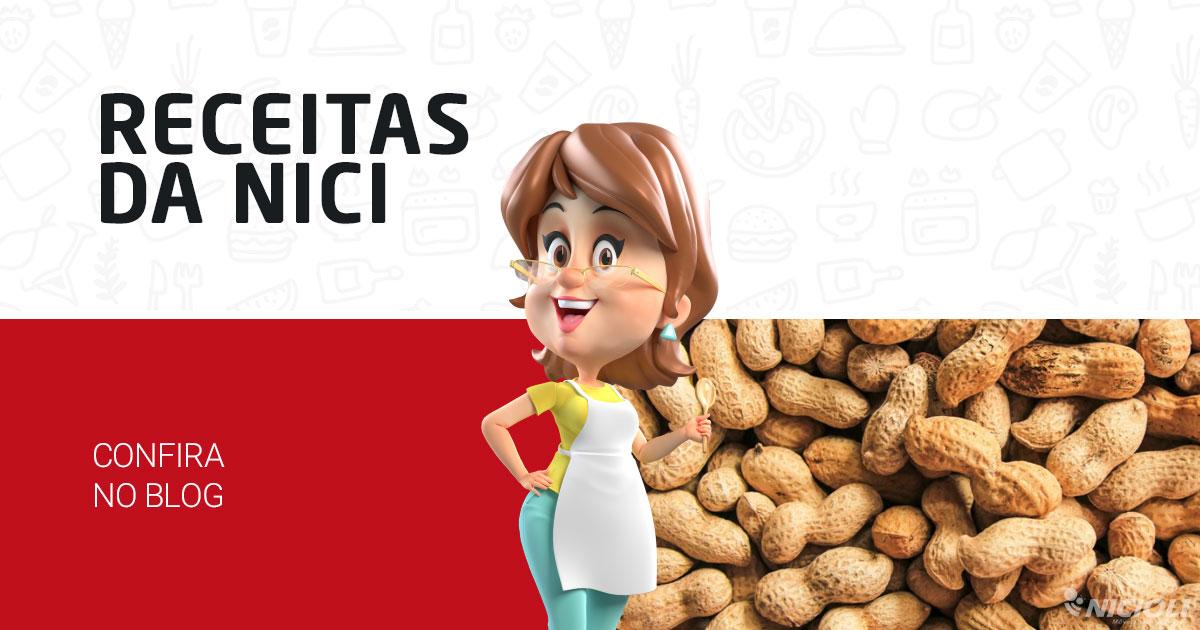 3 receitas com Amendoim: Pé de Moça, Paçoca e Chá de Amendoim